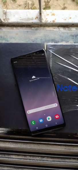 Samsung Note 8 14 month used brand new condition with bill all accesrs