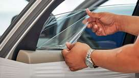 Car glass lamination with 70% heat rejection