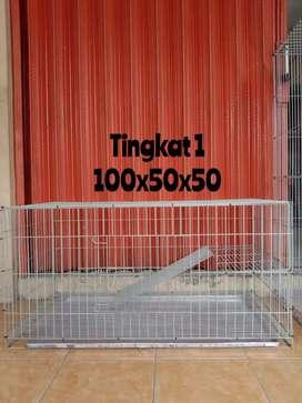 Adik Redy stok lagi Kandang kucing ukuran 1 meter