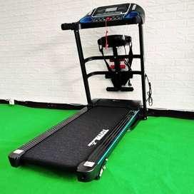 Treadmil elektrik alat olahraga murah tl 619 3 fungsi bayar ditempat