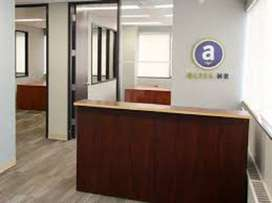 Blue area small office good location space available for rent