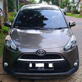 Toyota Sienta 2017 Tipe V CVT