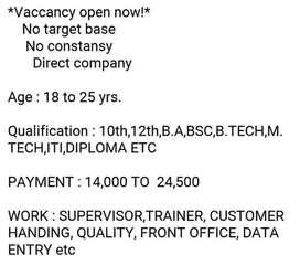 Jobs recuritment in ludhinana