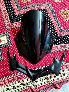 Gixxer sf 250/150 visor plus winglet for sell.
