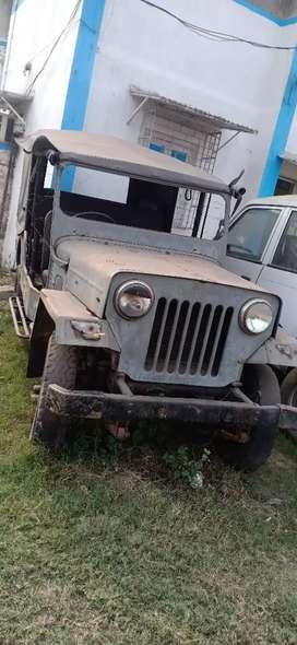 Mahindra commandar jeep good condition paper fail