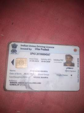 Gadi chalwane ke liye Sampark Karen I am driver 1 Sal experience