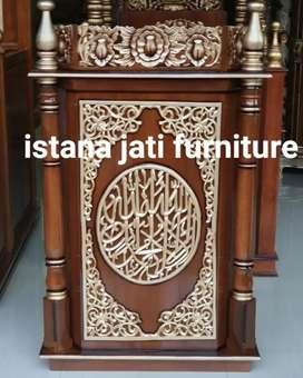 Tersedia mimbar masjid minimalis