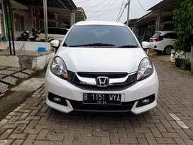 """Honda Mobilio E CVT/AT 2014 Putih """"Dp25jt"""""""