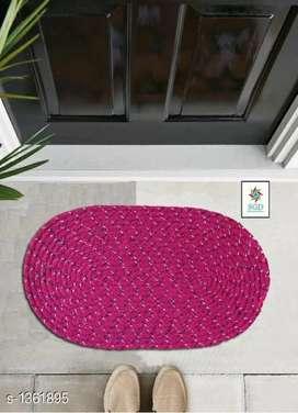Comfy polyester doormat