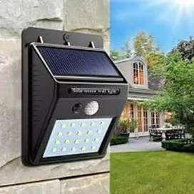 Lampu taman tenaga matahari solar cell, sensor gerak
