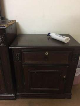 2 side tables and dressing table