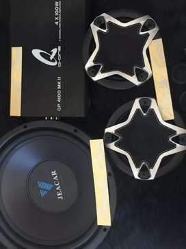 Soundsystem mobil subwoofer jeacar, power q-one, & split wolf ^_^