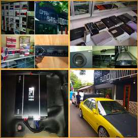 Omah audio Bantul (paket BOMBASTIS)audio installer&pasion