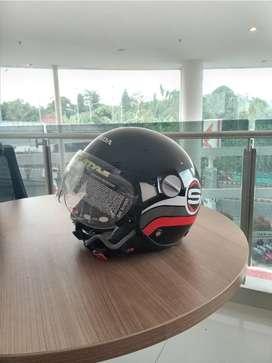 Helm Scoopy Hitam Baru
