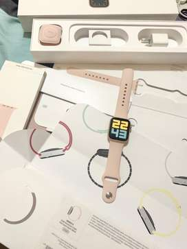 Apple watch Series 5 40mm gold with pink sportband