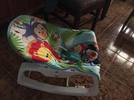Fisher price branded rocker chair with capacity of 18 kgs