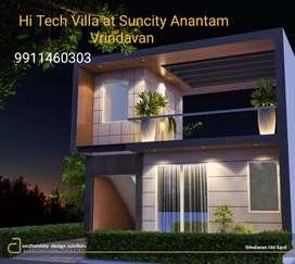 151 yard East facing villa in suncity ANANTAM