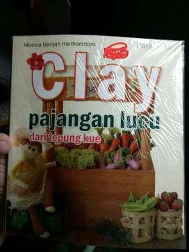 Buku clay monica, buku unik, buku antik