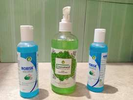 Hand Sanitizer, Hand wash, Mask & Cosmo Products