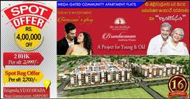 2BHK Flats 34.5L only,1BHK flat 16.5L only, 1BK flat 11L only hurry up