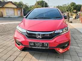 Honda jazz rs 2018 matic odo 18 ribu