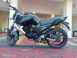 Yamaha FZ-S, 2011 end model.  With all papers clear