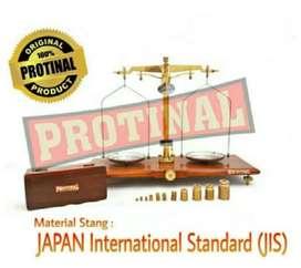 1 unit PROTINAL Timbangan Gram/Neraca Obat/Timbangan Obat 500 gr