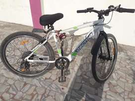 Electro Glide Cycle with motor fitted ,full electric cycle with 8 gear