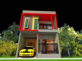 jasa gambar arsitek 3D eksterior dan interior untuk IMB RAB hrga hemat
