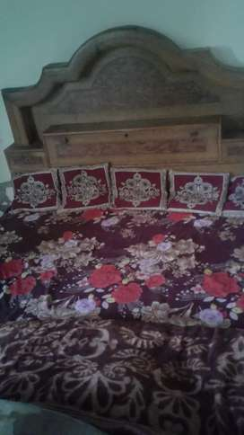 Dubbel bed with 4 box
