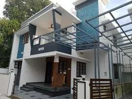 3.bhk 1500 sqft 4 cent new build house at kakkanad near thevakkal