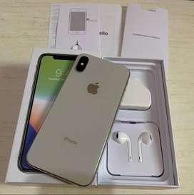iPhone X 64GB Ex Apple Inter Original Lengkap Mulus FullSet Bisa TT
