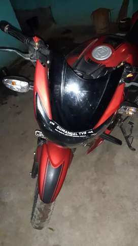 My new bike apache good condition