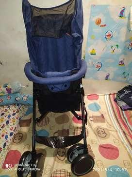 Dijual cepat stroller Spacebaby S 5012  bisa lipat