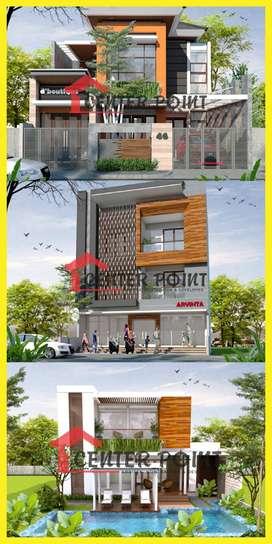 Desain Arsitek Gambar RAB IMB Kontraktor Rumah di Magelang