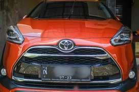 Toyota Sienta Q CVT, 2018, KM 33RB, Service record