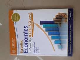 IGCSE Cambridge/Oxford economics book O LEVELS