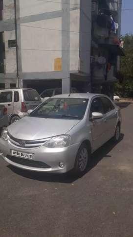 Toyota Etios V Top Modal, Petrol & CNG Car