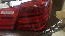 Cruze led tail lamps Benz style with matrix indicators