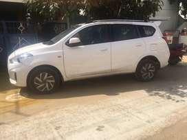 Datsun go plus car for immediate sale