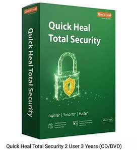 Quick Heal Total Security 1 User for 3Years
