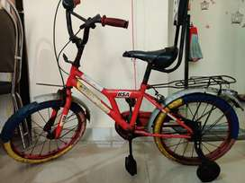 BSA cycle Red