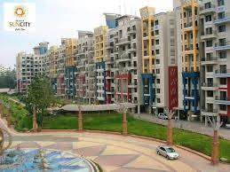 2 BHK available for resale in Bramha Suncity
