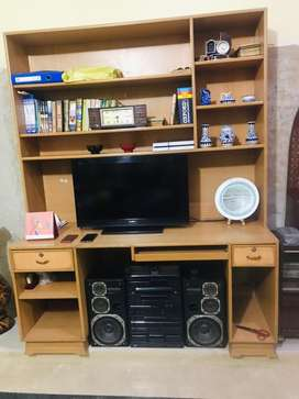 TV cabinet & study table
