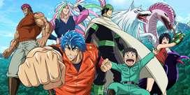 anime series toriko