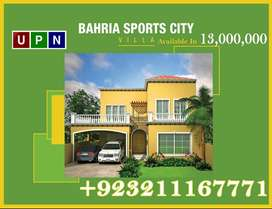 350 Sq Yard Villa Available In Sports City Villas, Bahria Town Karachi