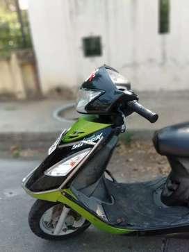 TVS Scooty Streck