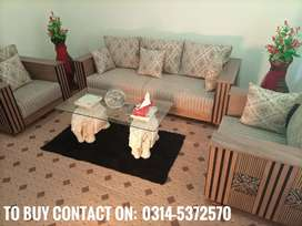 Ceramic Elephants as sofa table or chair (home delivery available)