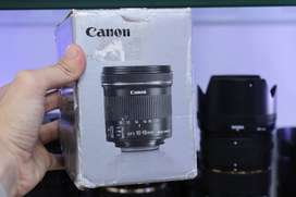 Canon 10-18mm IS STM Lens (Just Like Brand New)