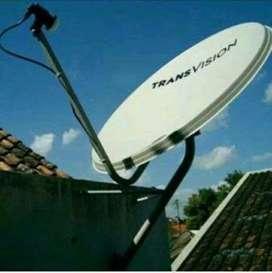 Pilihan paket tepat Transvision HD murah nomat hanya 420 ribu